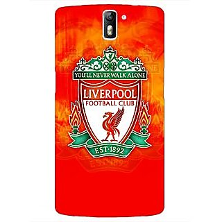 1 Crazy Designer Liverpool Back Cover Case For OnePlus One C410547