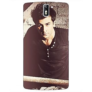 1 Crazy Designer Bollywood Superstar Ranbir Kapoor Back Cover Case For OnePlus One C410903