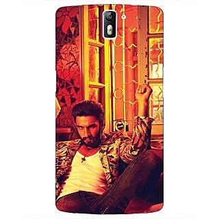 1 Crazy Designer Bollywood Superstar Ranveer Singh Back Cover Case For OnePlus One C410905
