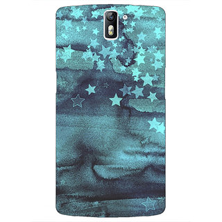1 Crazy Designer Star Nights Pattern Back Cover Case For OnePlus One C410219