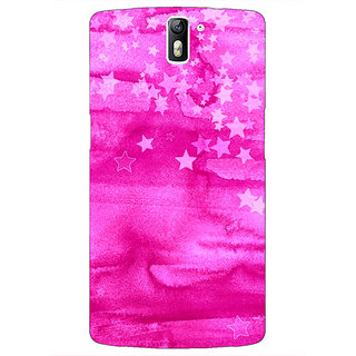 1 Crazy Designer Star Morning Pattern Back Cover Case For OnePlus One C410221