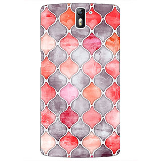 1 Crazy Designer Morrocan Pattern Back Cover Case For OnePlus One C410224