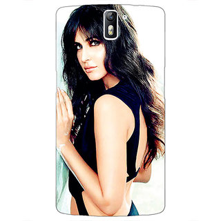 1 Crazy Designer Bollywood Superstar Katrina Kaif Back Cover Case For OnePlus One C410989