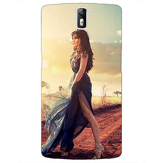 1 Crazy Designer Bollywood Superstar Jacqueline Fernandez Back Cover Case For OnePlus One C410990