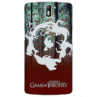 1 Crazy Designer Game Of Thrones GOT Houses Back Cover Case For OnePlus One C411527