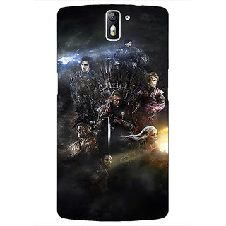 1 Crazy Designer Game Of Thrones GOT All Back Cover Case For OnePlus One C411535