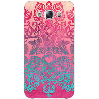 1 Crazy Designer Princess Pattern Back Cover Case For Samsung Galaxy E7 C420229