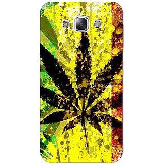 1 Crazy Designer Weed Marijuana Back Cover Case For Samsung Galaxy E7 C420497