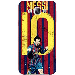 1 Crazy Designer Barcelona Messi Back Cover Case For Samsung Galaxy E7 C420528