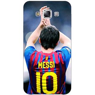 1 Crazy Designer Barcelona Messi Back Cover Case For Samsung Galaxy E7 C420529