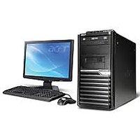 Acer Veriton Tower Desktop  AMD  2  GB  500  GB   Black
