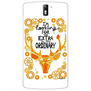 1 Crazy Designer Quotes Back Cover Case For OnePlus One C411162