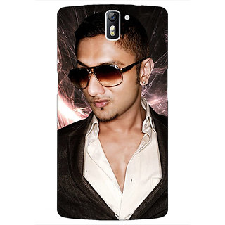1 Crazy Designer Bollywood Superstar Honey Singh Back Cover Case For OnePlus One C411182
