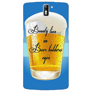 1 Crazy Designer Beer Holder Back Cover Case For OnePlus One C411208