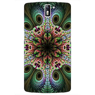 1 Crazy Designer Paisley Beautiful Peacock Back Cover Case For OnePlus One C411597