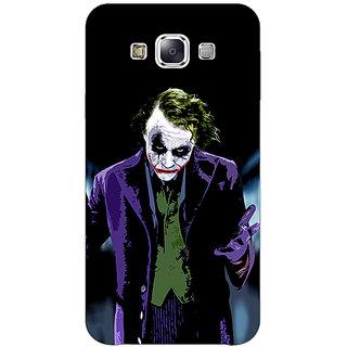 1 Crazy Designer Villain Joker Back Cover Case For Samsung Galaxy E7 C420045