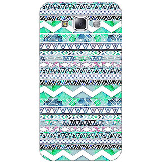 1 Crazy Designer Aztec Girly Tribal Back Cover Case For Samsung Galaxy E7 C420100