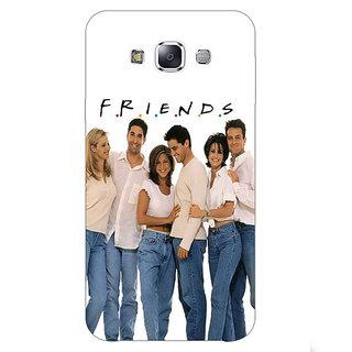 1 Crazy Designer TV Series FRIENDS Back Cover Case For Samsung Galaxy E7 C420345