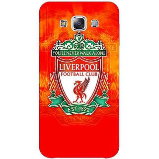 1 Crazy Designer Liverpool Back Cover Case For Samsung Galaxy E7 C420547