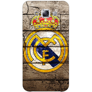 1 Crazy Designer Real Madrid Back Cover Case For Samsung Galaxy E7 C420596