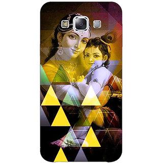 1 Crazy Designer Lord Krishna Back Cover Case For Samsung Galaxy E7 C421281