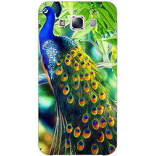 1 Crazy Designer Paisley Beautiful Peacock Back Cover Case For Samsung Galaxy E7 C421578