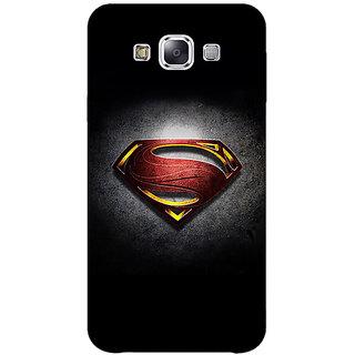 1 Crazy Designer Superheroes Superman Back Cover Case For Samsung Galaxy A7 C430037