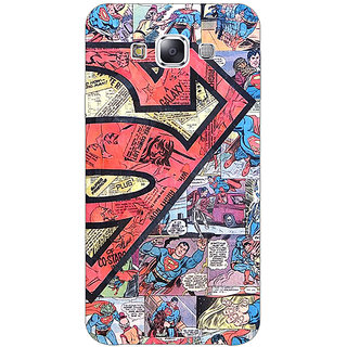 1 Crazy Designer Superheroes Superman Back Cover Case For Samsung Galaxy A7 C430044