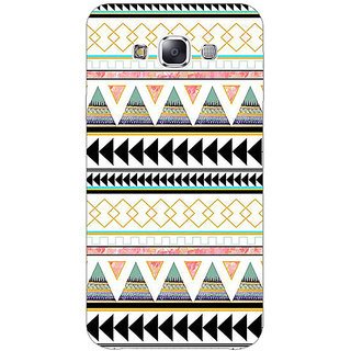 1 Crazy Designer Aztec Girly Tribal Back Cover Case For Samsung Galaxy A7 C430067