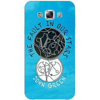 1 Crazy Designer TFIOS World  Back Cover Case For Samsung Galaxy E7 C420114