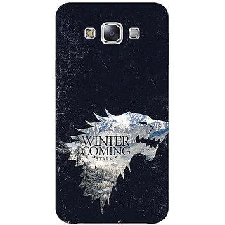 1 Crazy Designer Game Of Thrones GOT House Stark  Back Cover Case For Samsung Galaxy A7 C430131