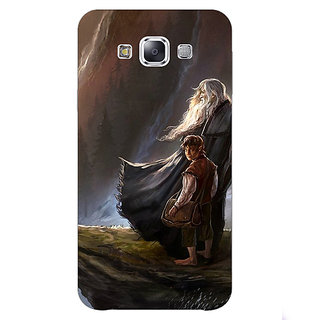 1 Crazy Designer LOTR Hobbit Gandalf Back Cover Case For Samsung Galaxy A7 C430365