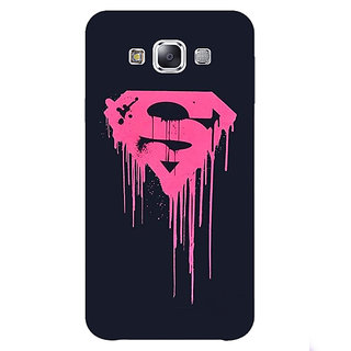 1 Crazy Designer Superheroes Superman Back Cover Case For Samsung Galaxy A7 C430379