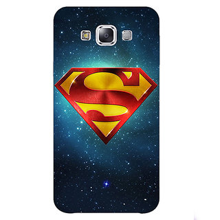 1 Crazy Designer Superheroes Superman Back Cover Case For Samsung Galaxy A7 C430383