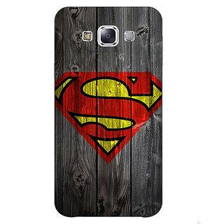 1 Crazy Designer Superheroes Superman Back Cover Case For Samsung Galaxy A7 C430384