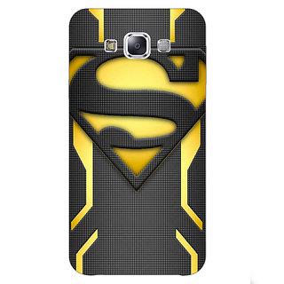 1 Crazy Designer Superheroes Superman Back Cover Case For Samsung Galaxy A7 C430385