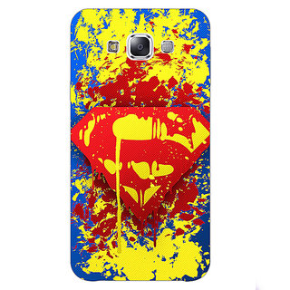 1 Crazy Designer Superheroes Superman Back Cover Case For Samsung Galaxy A7 C430392