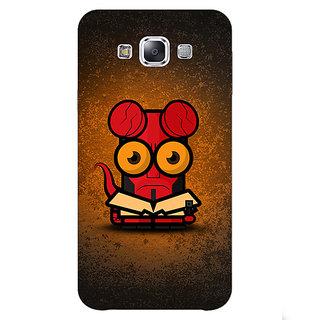1 Crazy Designer Big Eyed Superheroes Hell Boy Back Cover Case For Samsung Galaxy E7 C420400