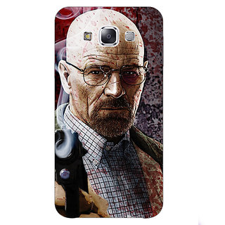 1 Crazy Designer Breaking Bad Heisenberg Back Cover Case For Samsung Galaxy E7 C420418