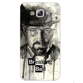 1 Crazy Designer Breaking Bad Heisenberg Back Cover Case For Samsung Galaxy E7 C420419