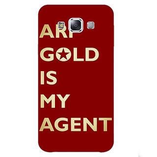 1 Crazy Designer Entourage Ari Gold Back Cover Case For Samsung Galaxy E7 C420436