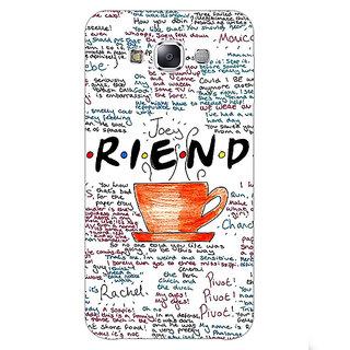 1 Crazy Designer FRIENDS Back Cover Case For Samsung Galaxy E7 C420451