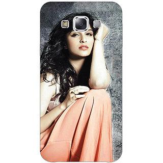 1 Crazy Designer Bollywood Superstar Parineeti Chopra Back Cover Case For Samsung Galaxy E7 C421041