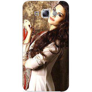 1 Crazy Designer Bollywood Superstar Jacqueline Fernandez Back Cover Case For Samsung Galaxy E7 C421044