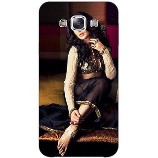 1 Crazy Designer Bollywood Superstar Nargis Fakhri Back Cover Case For Samsung Galaxy E7 C421049
