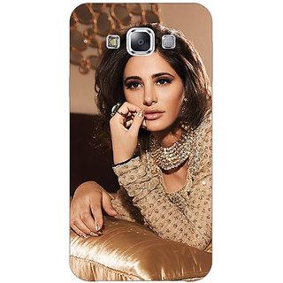 1 Crazy Designer Bollywood Superstar Nargis Fakhri Back Cover Case For Samsung Galaxy E7 C421057
