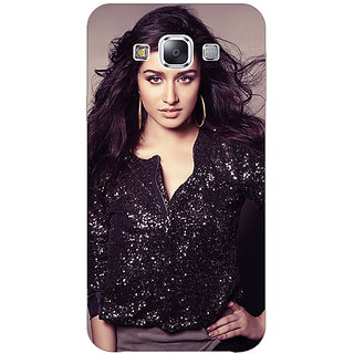 1 Crazy Designer Bollywood Superstar Shraddha Kapoor Back Cover Case For Samsung Galaxy E7 C421064