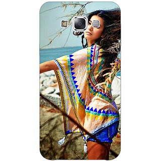 1 Crazy Designer Bollywood Superstar Shruti Hassan Back Cover Case For Samsung Galaxy E7 C421071