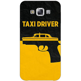 1 Crazy Designer Hollywood Taxi Driver Back Cover Case For Samsung Galaxy E7 C421095