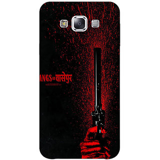 1 Crazy Designer Bollywood Superstar Gangs Of Wasseypur Back Cover Case For Samsung Galaxy E7 C421102